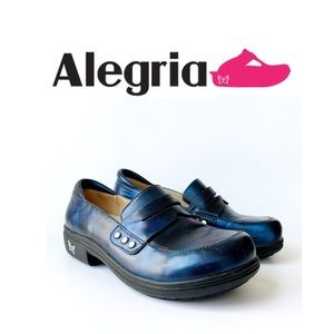 Alegria Taylor Womens 36 Blue Clog /Loafers